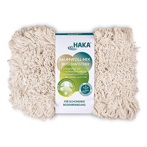 HAKA Baumwoll-Mix Bodenwischer I 1 Stück