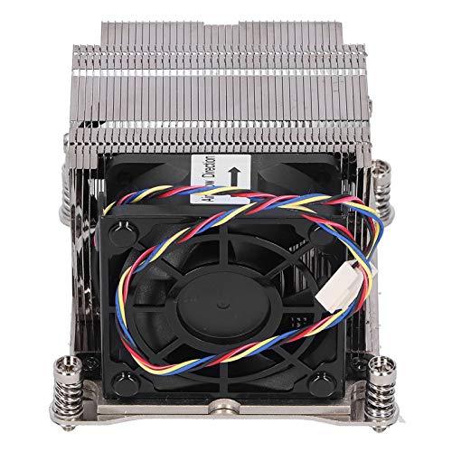 Xuzuyic Disipador de Calor de CPU/Equipo de enfriamiento Activo de computadora 2U / Compatible para Socket LGA 2011 SNK-P0048AP4