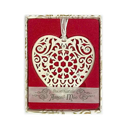 H&H Decorazione Swarovski - Buon Natale Amore Mio