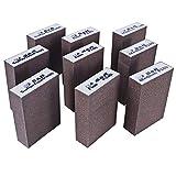 S&R Spugne Abrasive per Legno Metallo Acciaio per Cucina o Modellismo Levigatura e Pulizia