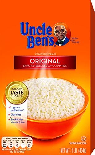 UNCLE BEN'S Original Long Grain White Rice, 1lb.