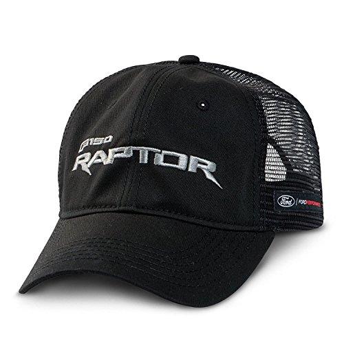 Ford F-150 Raptor Mesh Back Black Baseball Cap