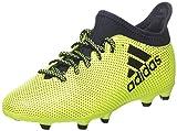 adidas X 17.3 FG, Chaussures de Football Entrainement Mixte Enfant, Jaune (Amasol/Tinley/Tinley), 36 EU