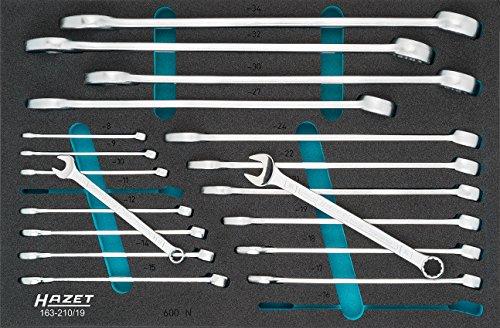 HAZET 163-210/19 - Llaves combinadas