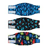CuteBone Dog Belly Bands for Male Dogs Wraps Washable Doggie Diapers DM07M
