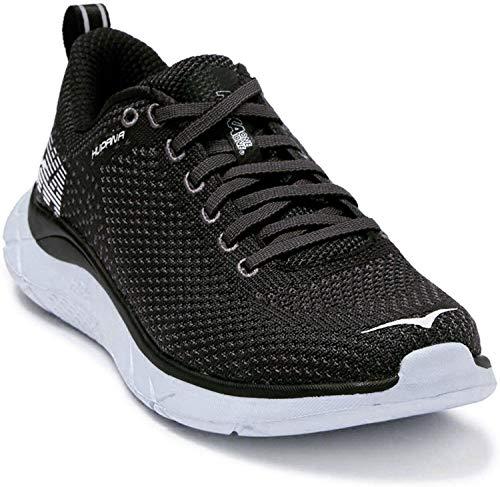HOKA ONE ONE Hupana Running Sneaker - Black/Dark Shadow - Womens - 8