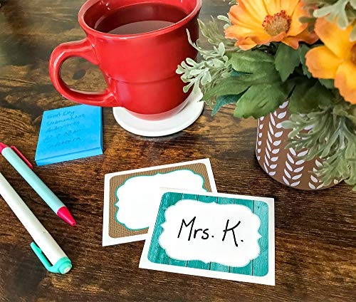Teacher Created Resources Shabby Chic Nametags/Labels (77195), 2.88 x 3.5 Inches Photo #4
