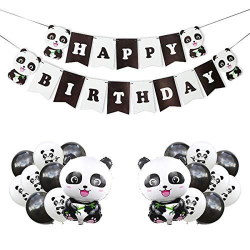 Panda Party Decorations Supplies
