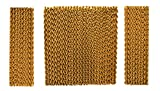 Honeywell Replacement Pad Evaporative Cooler Models CO48PM, Gold