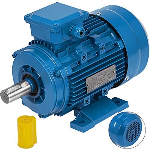 Mophorn Elektromotor Drehstrommotor 1.1KW Asynchronmotor Wechselstrommotor B3-Montage
