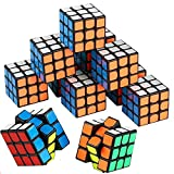 Mini Cube, Puzzle Party Toy(18 Pack), Eco-Friendly Material with Vivid Colors,Party Favor ...