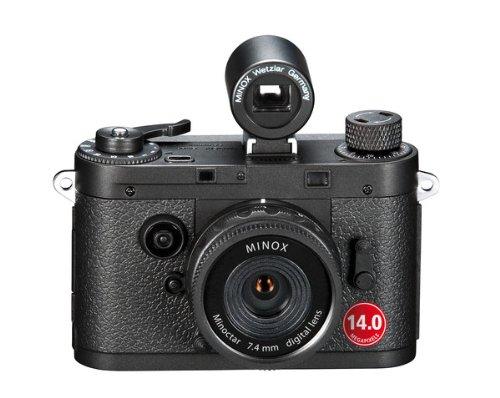 MINOX DCC 14.0 schwarz (Holzbox braun)