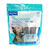 Virbac C.E.T. VeggieDent FR3SH Tartar Control Chews For Dogs, Large