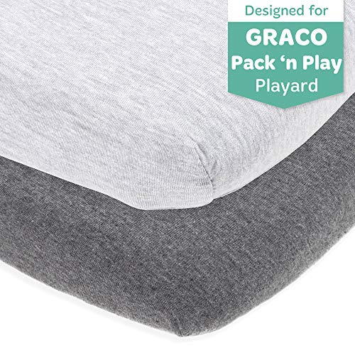 Best Prices! Cuddly Cubs Fitted Pack and Play Sheets Compatible with Graco Pack n Play and Other 27 ...