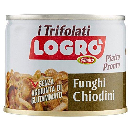 D'Amico Piatto Pronto di Funghi Chiodini Trifolati - 180 gr