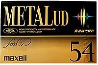 日立マクセル メタルテープ METAL UD 54分 高速磁化設計 M-UD54(F)