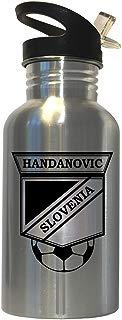 Samir Handanovic (Slovenia) Soccer Stainless Steel Water Bottle Straw Top