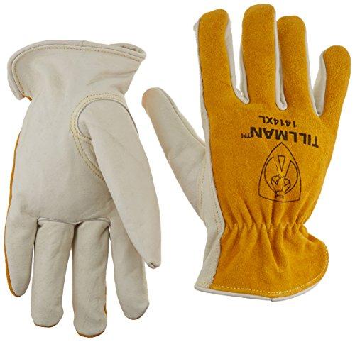 Tillman Leather Drivers Gloves, Cowhide, XL, PR, Model:1414XL