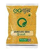 Goshudh Yellow Mustard Seed (Sarason)-500gm