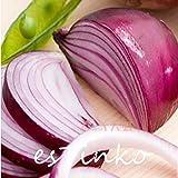500pcs Bourgogne oignon rouge Graines oignon légumes CEPA Graines de légumes biologiques non-OGM
