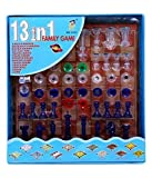 Negi 13 in 1 Ludo, Chess, Snake and Ladder and More Board Game