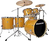 Ludwig Element Evolution LCEE6220 6-piece Complete Drum Set with Zildjian Cymbals - Gold Sparkle