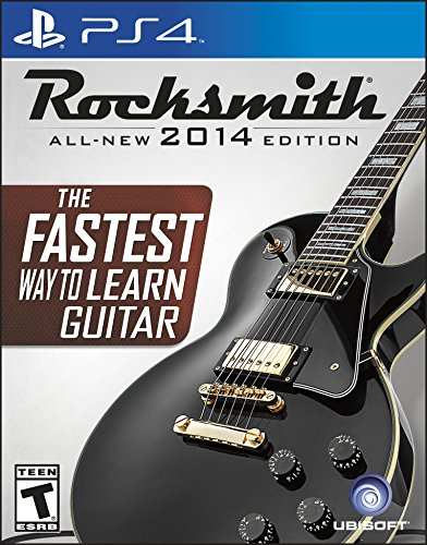 Ubisoft Rocksmith 2014, PS4 - Juego (PS4, PlayStation 4, Música, T (Teen))