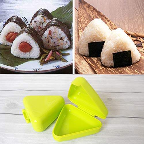 ZqiroLt K¨¹che liefert, Triangle Sushi DIY Nori Rice Ball Box Press Mold Onigiri Maker Kitchen Tool-Random Color""