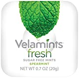 Velamints Fresh Sugar Free Mints Tin, Truvia Sweetened, Spearmint 28 Count (Pack of 6)