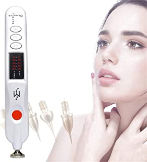 Mole Removal Pen/Fibroblast Plasma Pen Portable Plug Charging Beauty Tools with 5 Adjustable Modes for Face Eyelid Lift Fr...