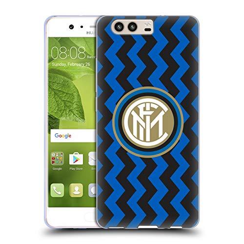Head Case Designs Ufficiale Inter Milan in Casa 2020/21 Kit Crest Cover in Morbido Gel Compatibile con Huawei P10