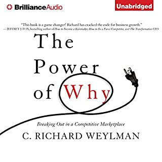 The Power of Why audiobook cover art
