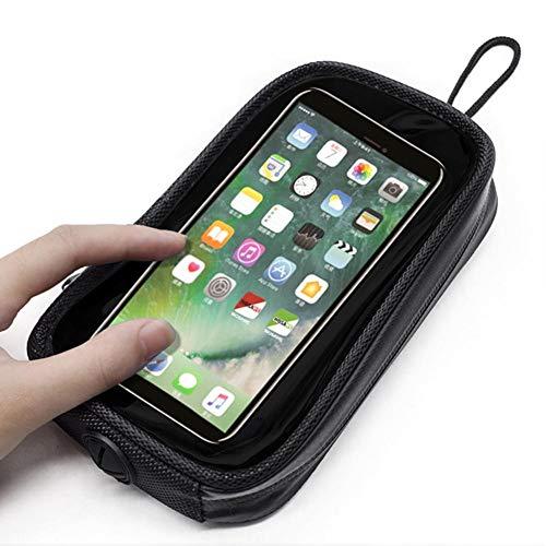 Tankrucksack Motorrad Magnet Tanktasche Motorrad Tanktasche mit Starke Magnete für Smartphone/Navi, Geeignet für Motorräder mit Metallgastank