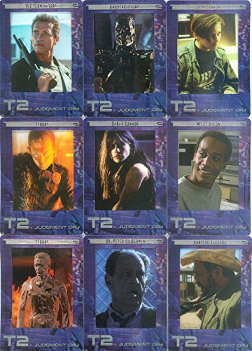 TERMINATOR 2 JUDGEMENT DAY MOVIE FILMCARDZ 2003 ARTBOX COMPLETE BASE CARD SET OF 72