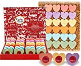 Bath Bombs Gift Set for Women. 24 Moisturizing Heart Shower Steamers & Bath Fizzies. Bath Bombs Set for Wife, Friend, & Teens. Best Bath Bomb Gift Box! Shower Bombs & Bath Bombs Party Favors