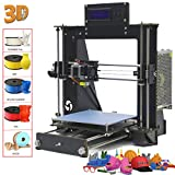 Win-Tinten Intelligence Desktop A8 Prusa I3 3D-Drucker DIY-Kits, Holz DIY Kit Prusa i3 3D Desktop Drucker, hohe Präzision DIY 3D Drucker (Prusa I3 3D Printer)