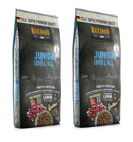Belcando Junior Lamm & Reis 2 x 12,5 kg Hundfutter - Sparpaket