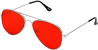 Phenomenal Aviator Boy's and Girl's Sunglasses (Red)