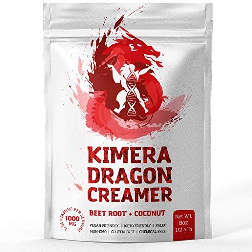 Kimera Dragon Creamer - Beet Root + Coconut (8oz) Keto-Friendly Non-Dairy Creamer