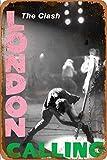 The Clash London Calling Vintage Blechschilder Zinn Poster