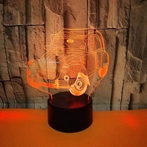 Boutiquespace Luz nocturna LED 3D Star Wars bebé Yoda nave espacial NCC 1701 Imperial Stormtrooper niño regalo noche luz para dormitorio de los niños lámpara de decoración Dj-Qds260_16 colores