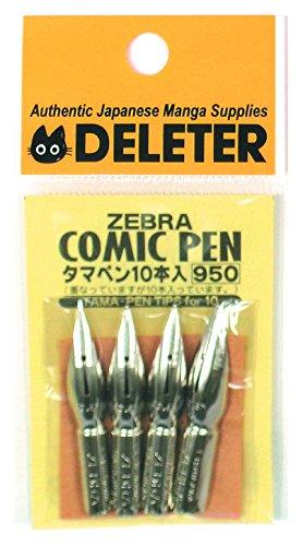 Kabura(Tama/Saji)-pen (stylo) Plume pour dessiner un manga. 10 pieces \