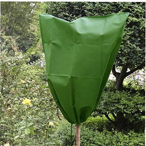 Calentar la Planta del arbusto árbol Cubierta de protección Vegetal Bolsa de protección contra heladas jardín de Invierno con cordón Planta Fruta Red del Acoplamiento del jardín