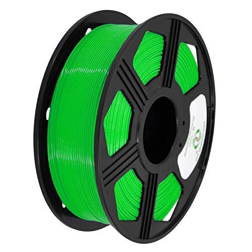 YOYI 3D Printer Filament, PLA Filament 1.75mm 2.2 lbs Spool (1kg), Dimensional Accuracy +/- 0.02 mm, 100% Europe Raw Material (Green)
