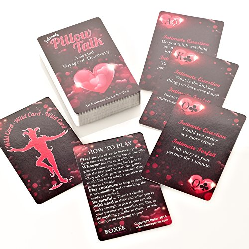 Pillow Talk Intimate Card Game