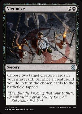 Magic The Gathering - Victimize (113/249) - Eternal Masters