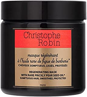 Regenerating Mask With Rare Prickly Pear Seed Oil 250 ml by Christophe Robin