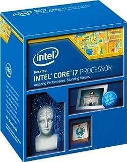 Intel Core i7-4770 - Procesador de sobremesa de cuatro núcleos 3,4 GHz LGA 1150 8 MB de caché BX80646I74770 (renovado)
