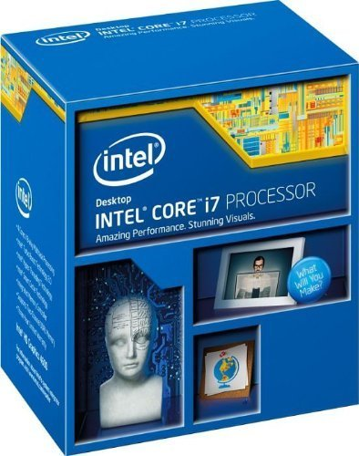 Intel Core i7-4770 Quad-Core Desktop Processor 3.4 GHZ LGA 1150 8 MB Cache BX80646I74770 (Renewed)