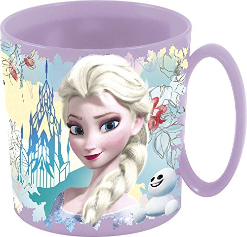 Unbranded 8020141 Frozen Family Mug, Plastique, Rose, 8 cm